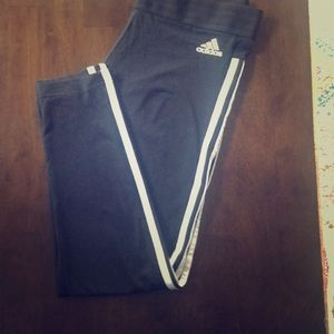 Addidas workout stretchy pants